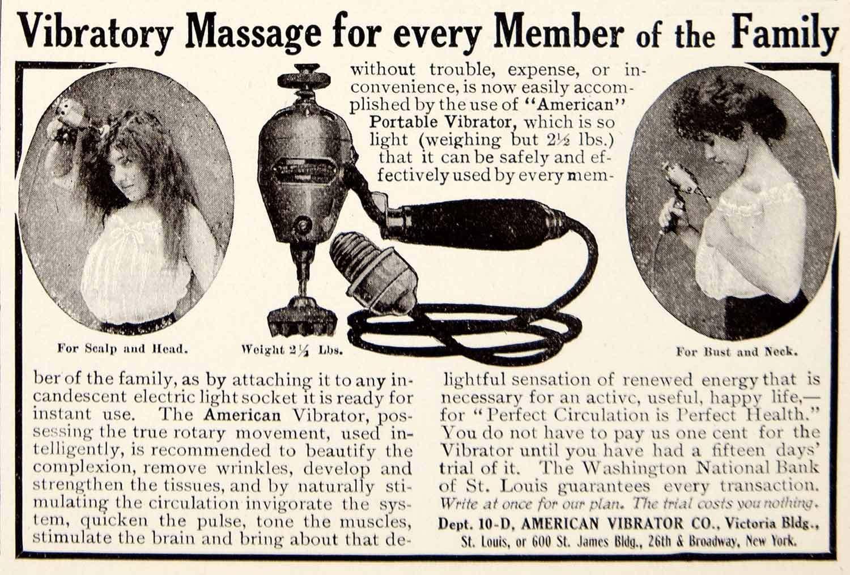 Reclama la Vibratoare Vintage