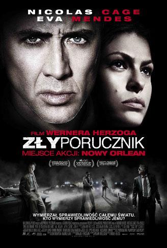 Polski plakat filmu 'Zły Porucznik'