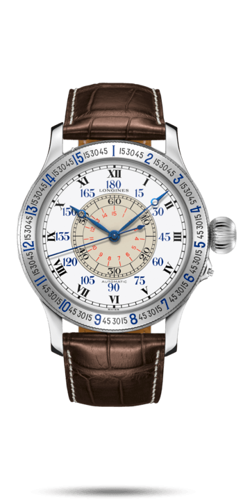 Watch The Lindbergh Hour Angle Watch L2.678.4.11.0