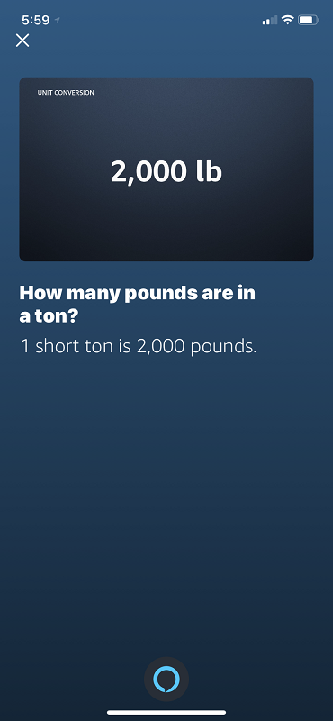 Ton to Pounds conversion