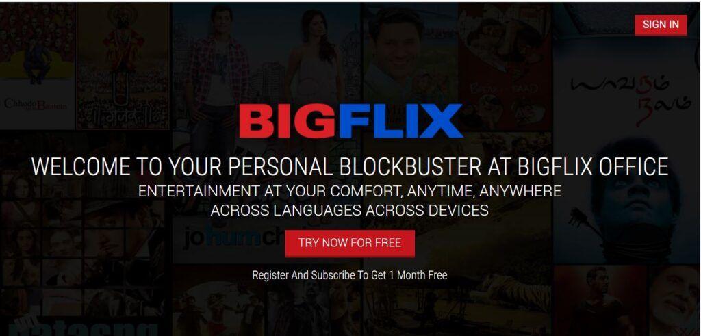 What is BigFlix
