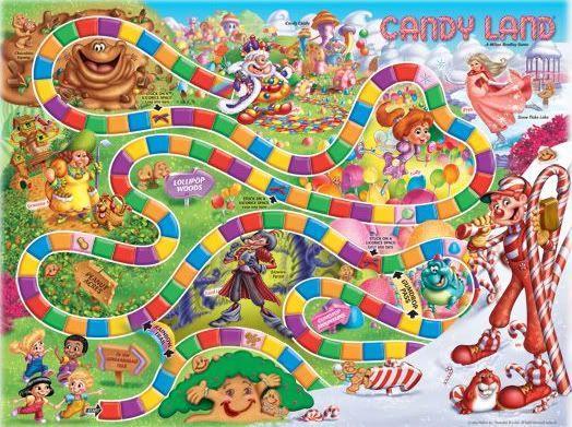 Newer, horribler Candy Land: | Candyland games, Candyland board ...