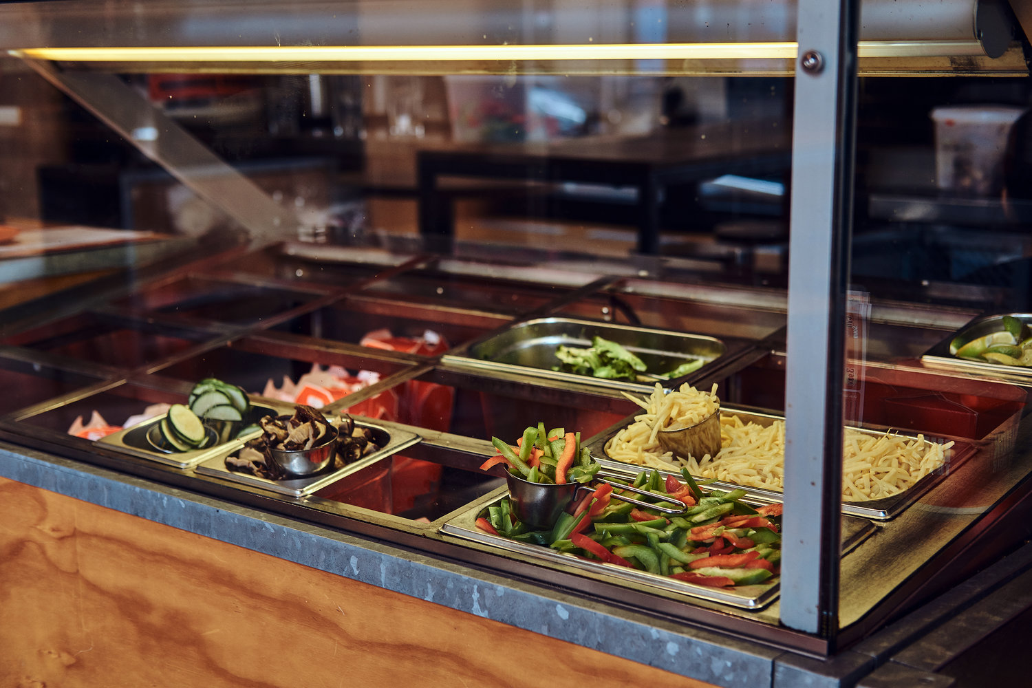 Salad Bar Restaurant Standard Operating Procedures