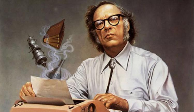 Tác giả Isaac Asimov.