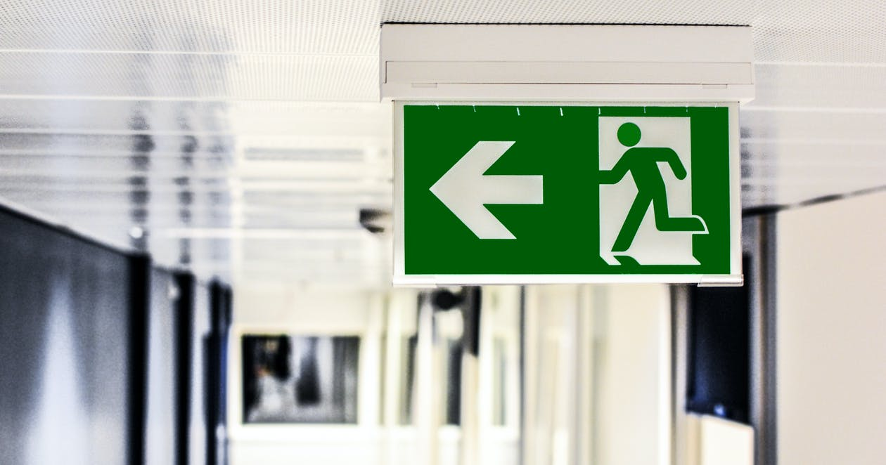 Green and White Male Gender Rest Room Signage protect your employees at work