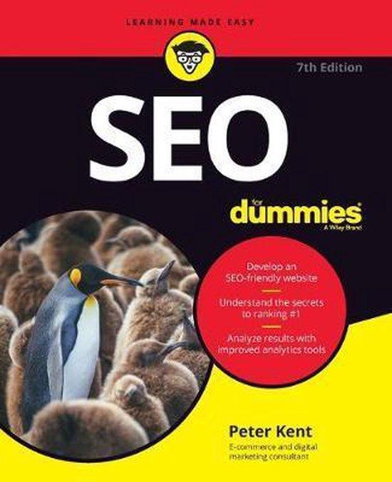 Voorbeeld boek: SEO For Dummies