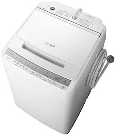 日立 8.0kg全自動洗濯機 ビートウォッシュ ホワイト BW-V80F W