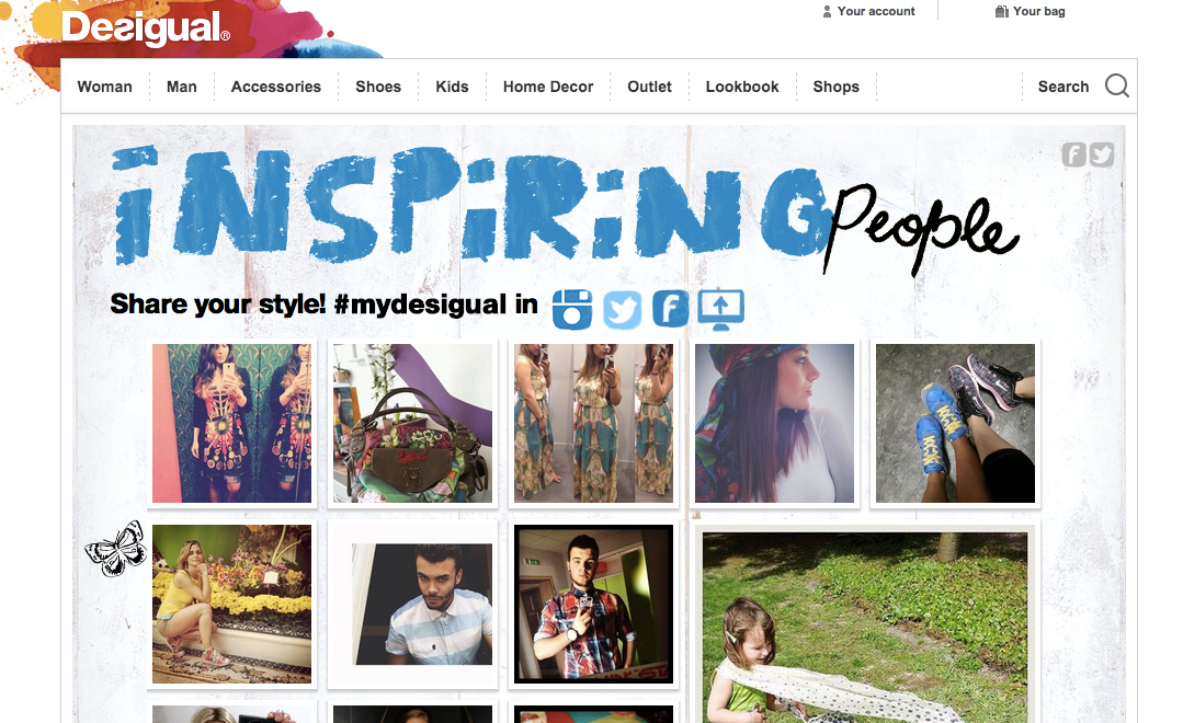 desigual instagram shoppable