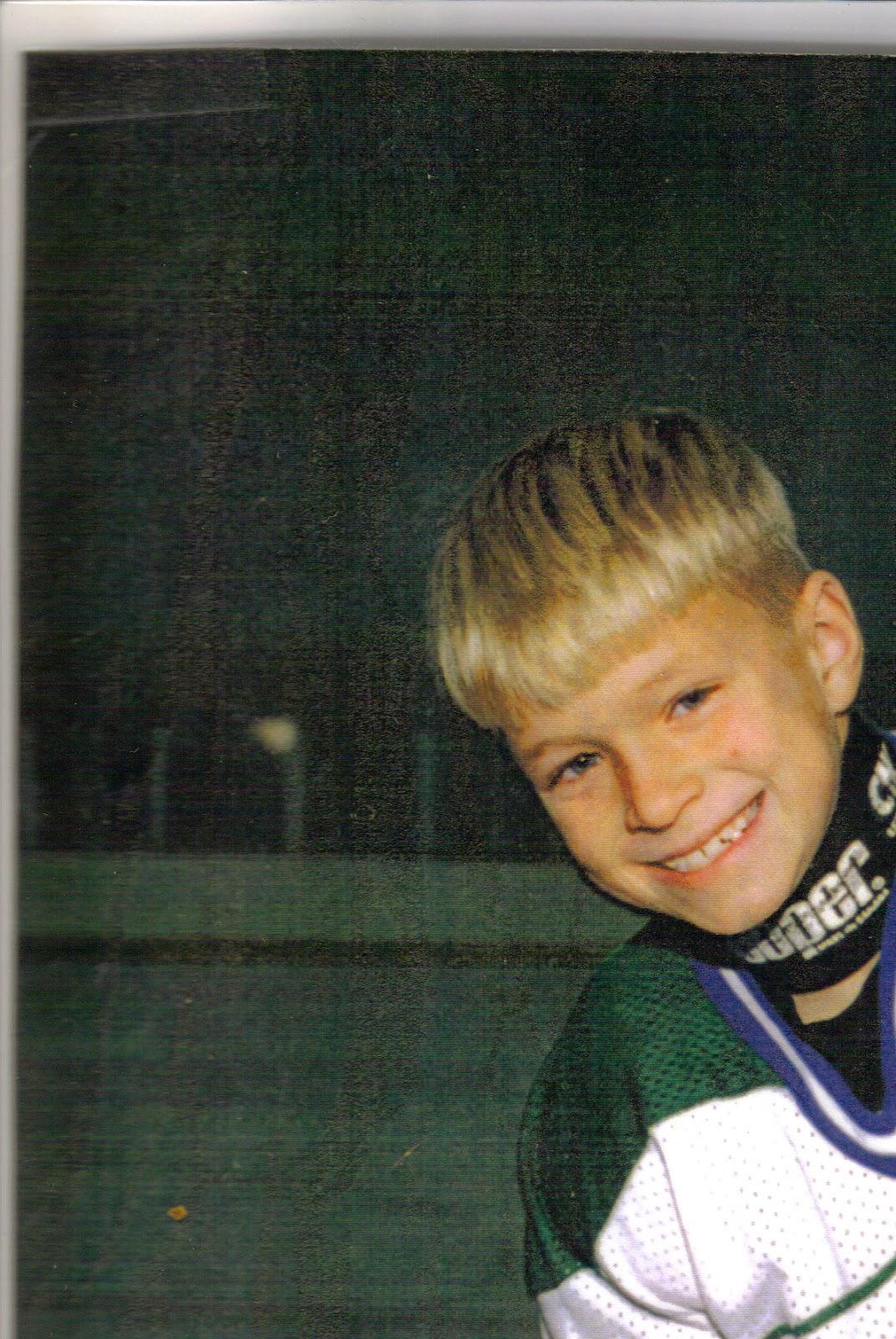 My peewee hockey picture