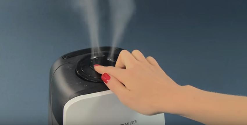 Ultrasonic Humidifier AIR-O-SWISS U600 Using Guide