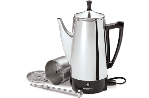 Presto 02811 12-Cup Stainless Steel Percolator Coffee Maker