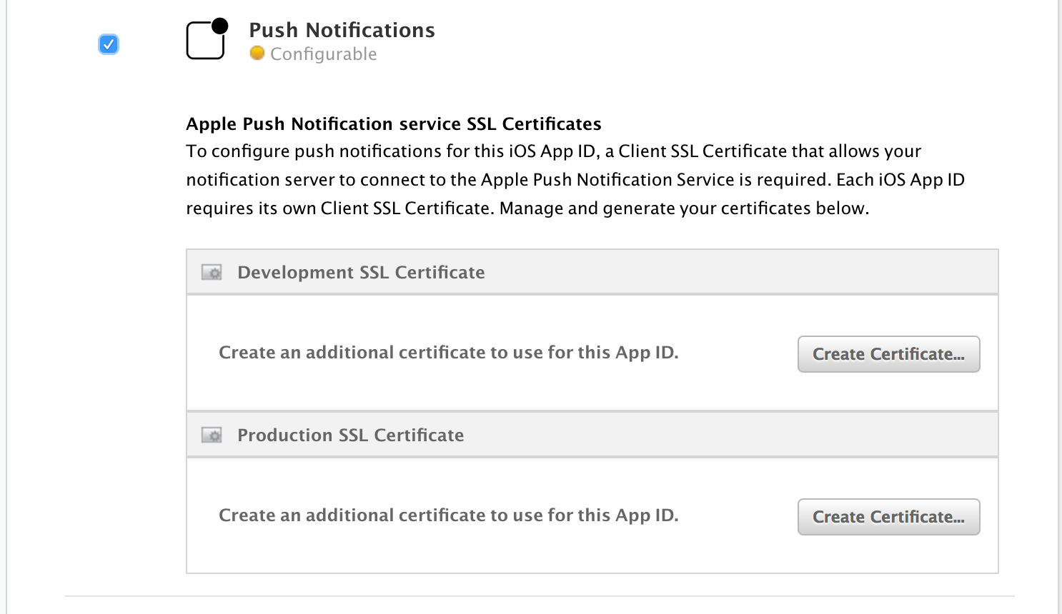 How To Create A Push Notification Certificate Freshchat