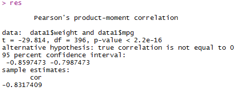 Correlation in R Programming 37