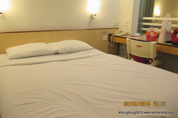 Double bed, Ibis Hotel  North Point, Hong Kong-2015