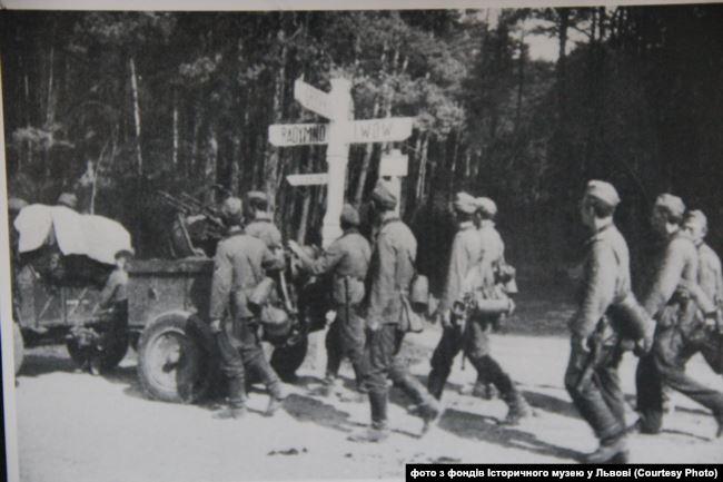 Солдати Вермахту у районі Львова.Вересень 1939 року
