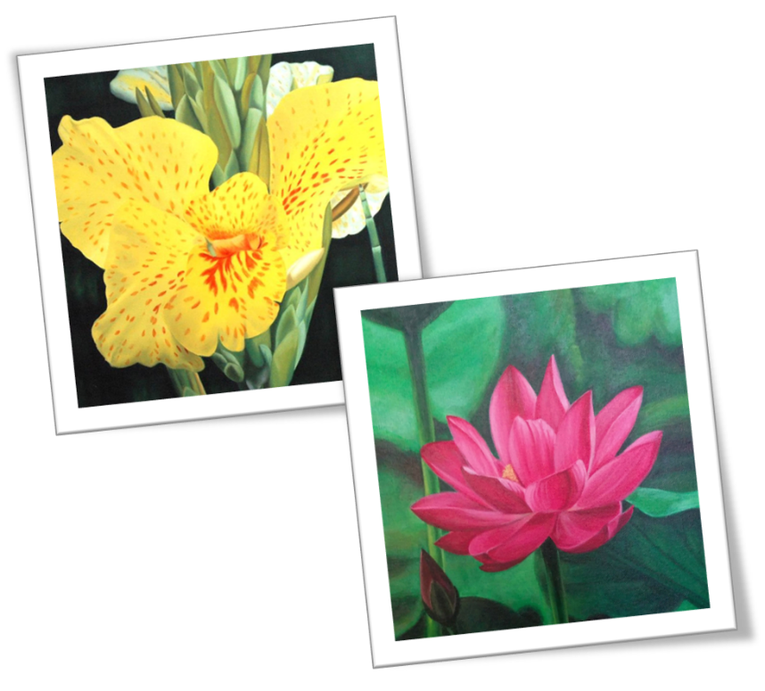 A close up of a flower