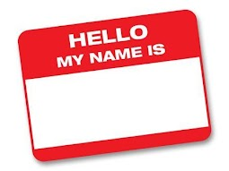 "[Image is a red name tag that says ""Hello my name is"" with nothing written in the blank space.]"
