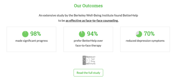 is online therapy effective? research and studies show yes