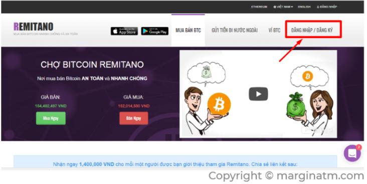 hình ảnh Hướng dẫn dùng VND mua crypto (BTC, ETH, USDT) trên sàn Remitano
