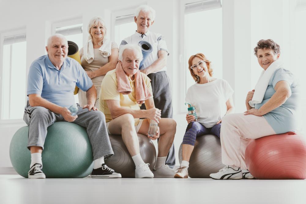 Fitness im Alter