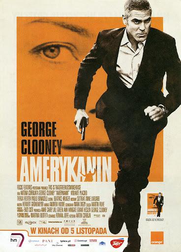 Przód ulotki filmu 'Amerykanin'
