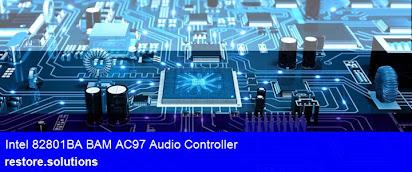 CORPORATION AUDIO 82801BA/BAM INTEL TÉLÉCHARGER CONTROLLER AC97