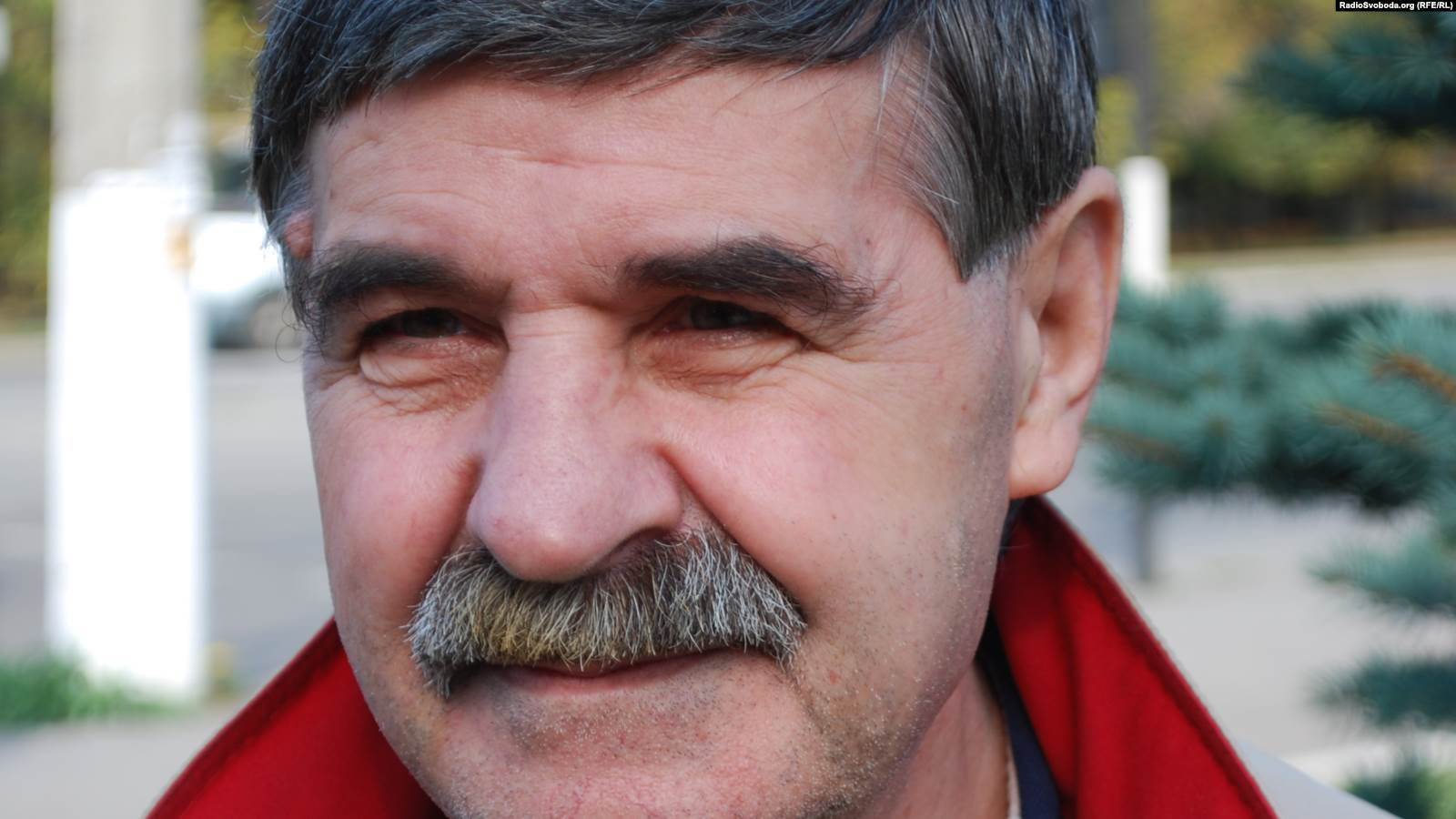 Василий Голобородько, наши дни. До войны на Донбассе поэт жил в Луганске, но в 2014-м был вынужден стать переселенцем