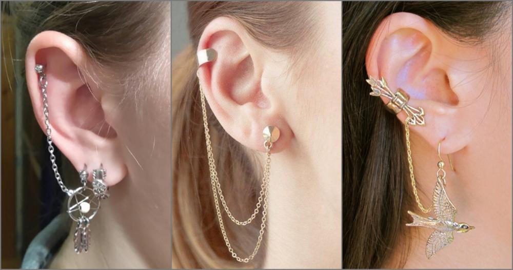 hình ảnh Những kiểu khuyên tai nữ cá tính đẹp nhất hiện nay - số 2