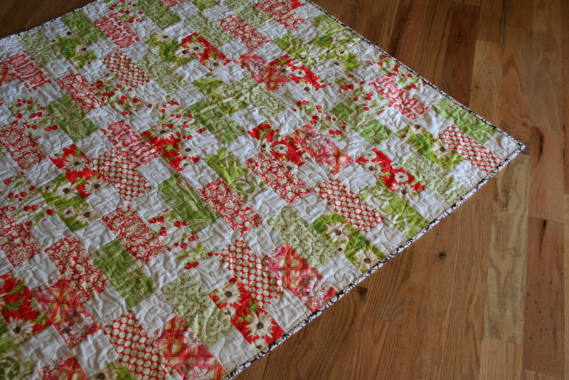 On the Road to Spring Quilt