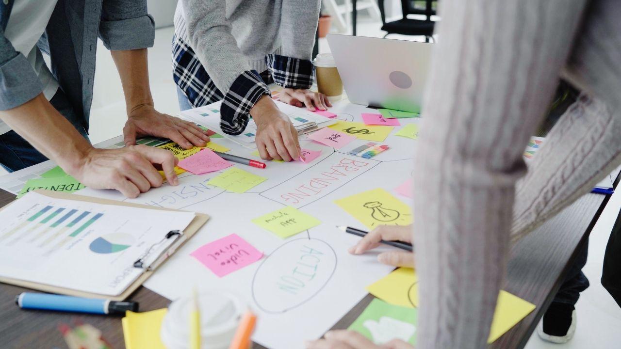 Processus de créativité d'une start-up