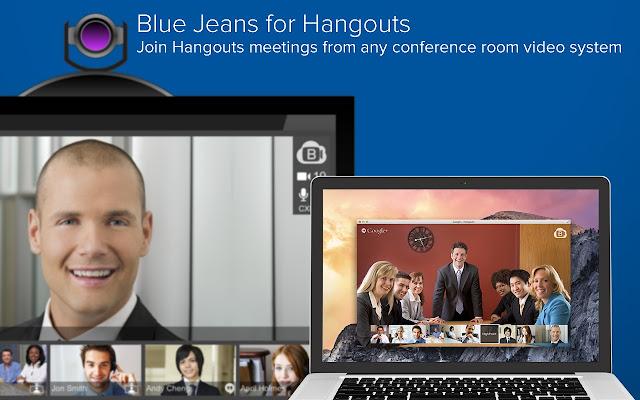 Blue Jeans for Hangouts Scheduler chrome extension