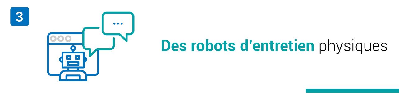 L'intelligence artificielle permet à des robots de faire passer des entretiens physiques