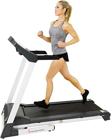Sunny Health and Fitness Smart Treadmill