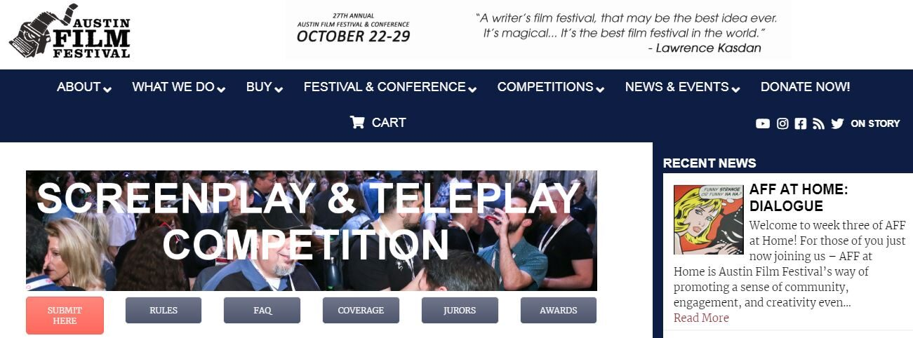 5 Best Screenwriting Contests to Submit Your Scripts in 2020