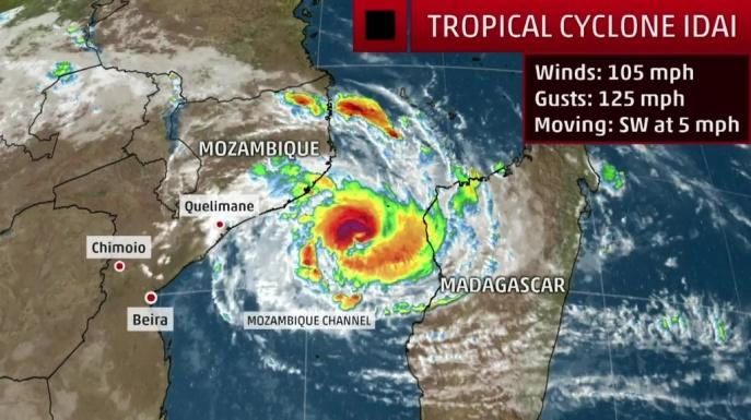 Image result for 1. Cyclone IDAI