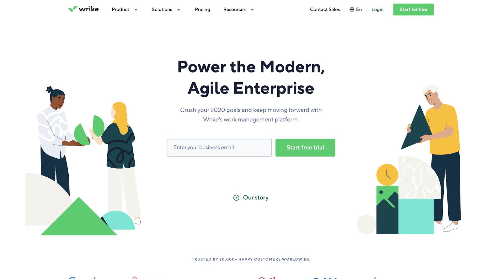 Wrike - Power the Modern, Agile Enterprise