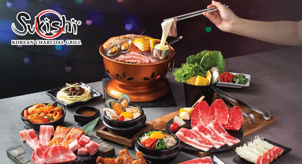 5. Sukishi Korean Charcoal Grill