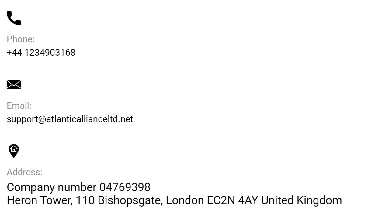 Atlantic Alliance Limited: отзывы трейдеров о сотрудничестве и анализ сайта
