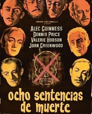 Ocho sentencias de muerte (1949, Robert Hamer)