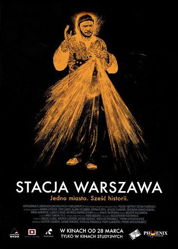 Przód ulotki filmu 'Stacja Warszawa'