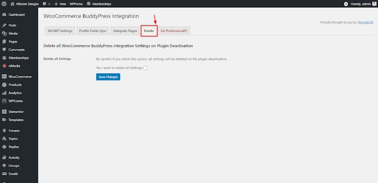 WooCommerce BuddyPress Integration