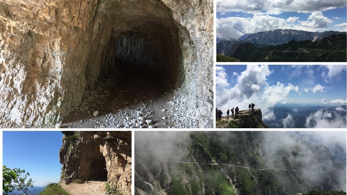 Immagine che contiene esterni, fotografia, montagna, roccia  Descrizione generata automaticamente