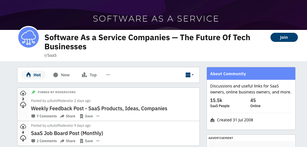 Software As Service
