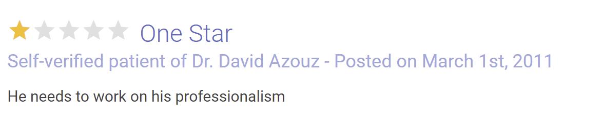 Azouz Plastic & Cosmetic Surgery review