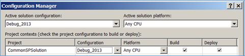 Debug 2013 Configuration Manager