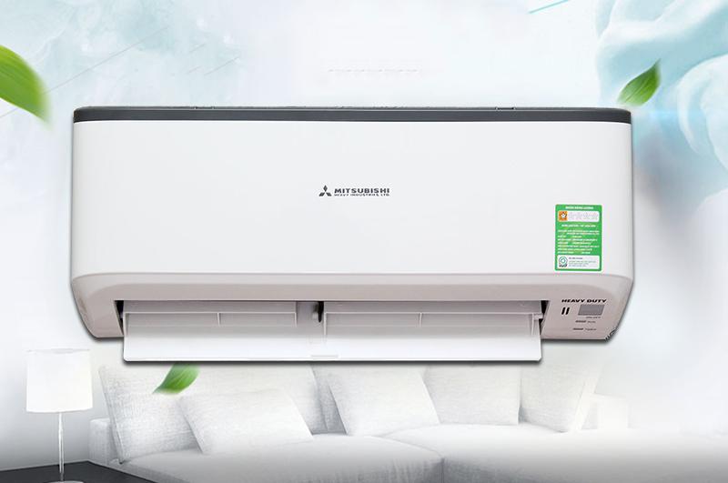 cách chỉnh máy lạnh mitshubishi