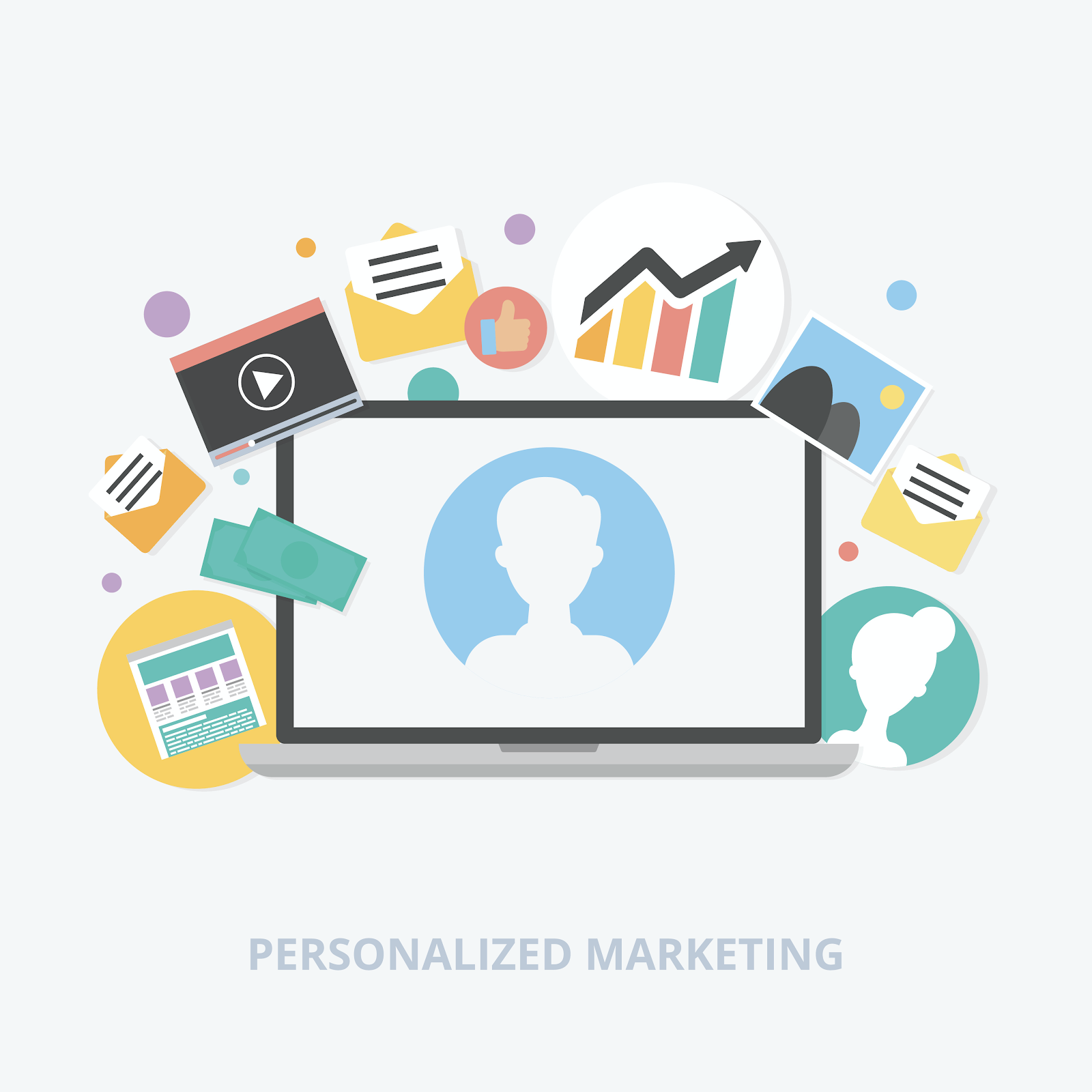 Deliver personalized content to your leads based on their previous HubSpot engagement.