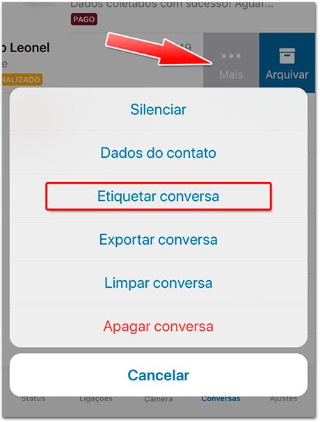 Como Criar No WhatsApp Business Etiquetas Organizadas ( Tutorial Completo 2021) 16