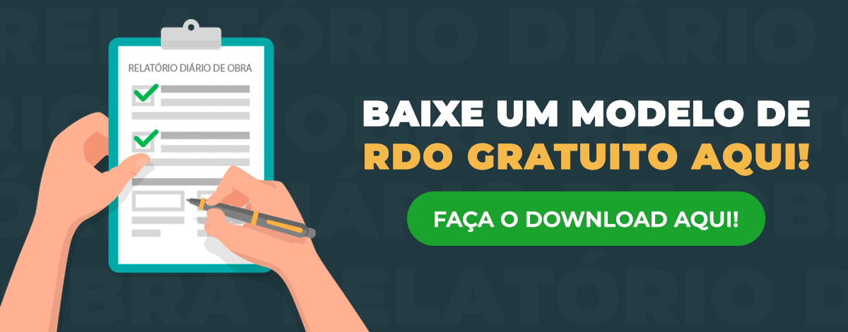 Relatório Diário de Obra