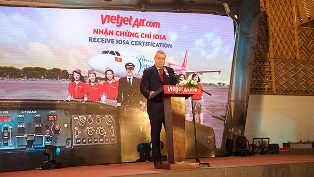IATA grants Vietjet IOSA certification